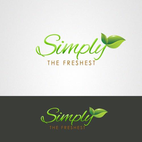 Organic Food Farm Logo