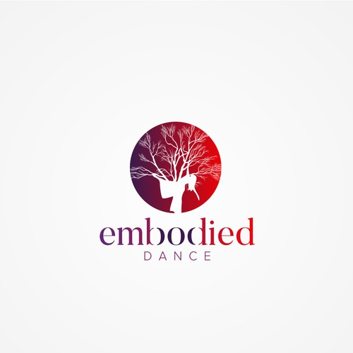 Logo design for dance training and performance
