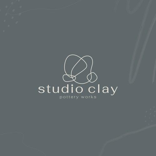 Pottery Studio Logo Design