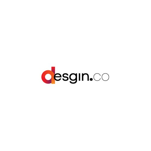 Creative logo for desgin.co - an industrial design community