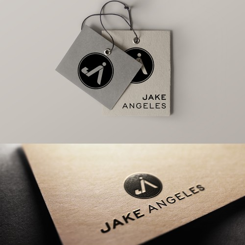 Create a unique logo that captures Jake Angeles' passion for living life to the fullest!