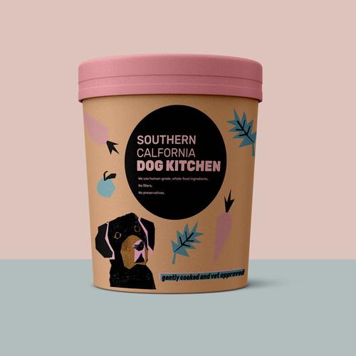 Frozen Dog Food Packaging