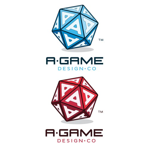 Logo contest winner for A-game design.co