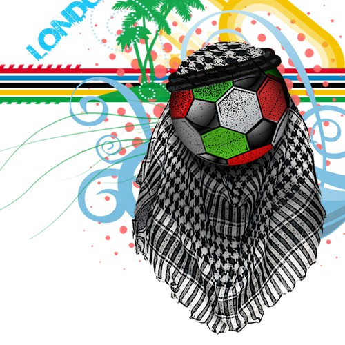 Create the next t-shirt design for the UAE NATIONAL Soccer Olympic team