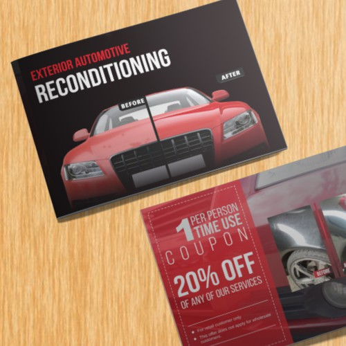 Unique Automotive Portfolio Booklet