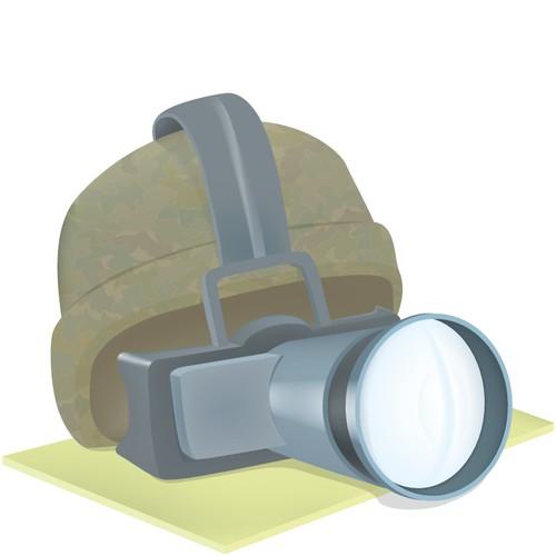 Create the next icon or button design for Mister Borken