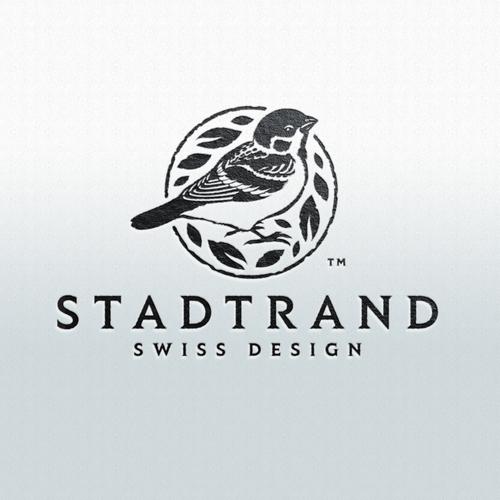 Stadtrand (Vintage Porzellan neu bedruckt)