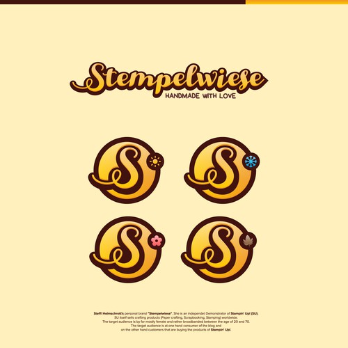 Crispy all season logo for Stempelwiese