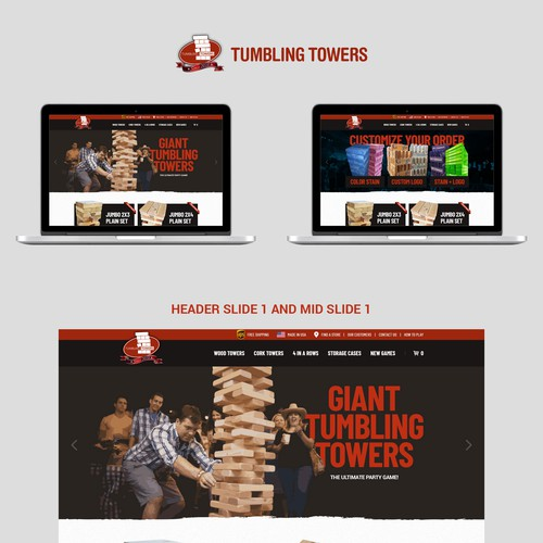 Tumbling Towers