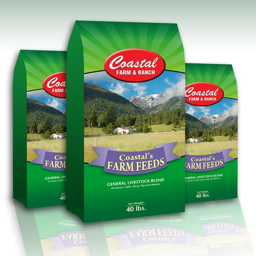 New print or packaging design wanted for Coastal Farm & Ranch