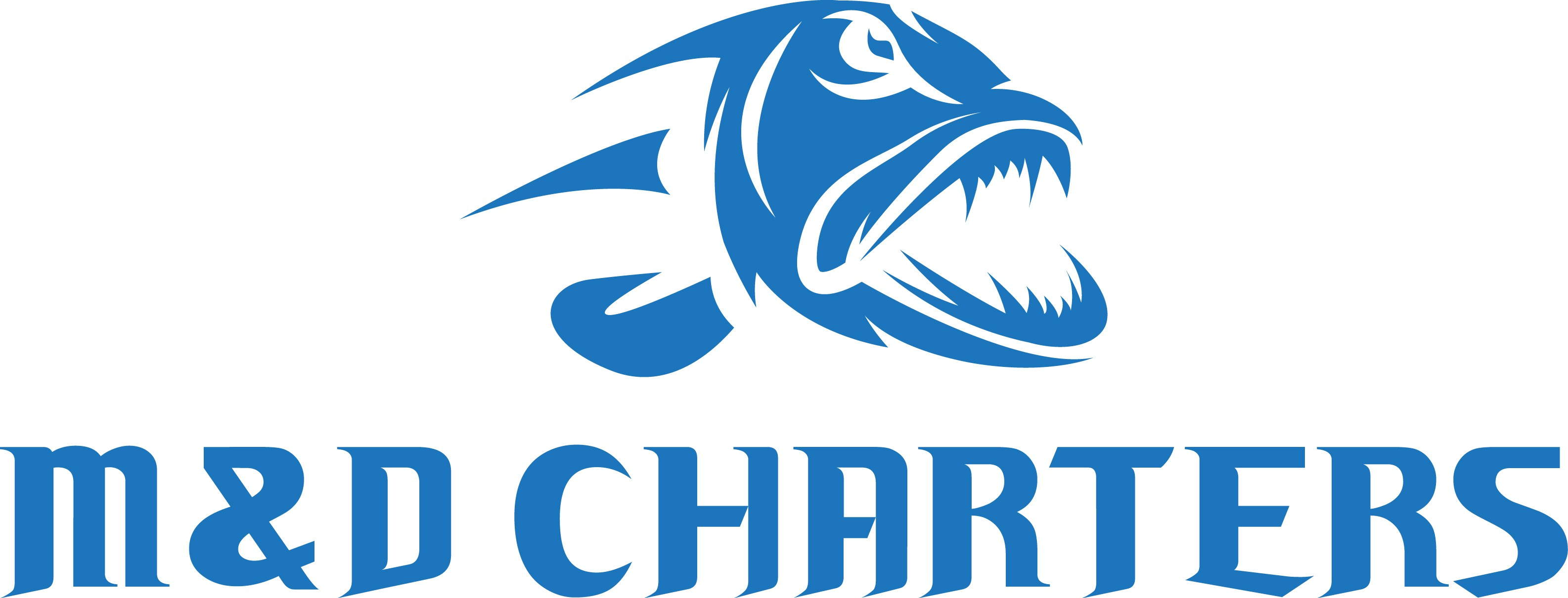 Design a logo for a fishing and tourism charter company