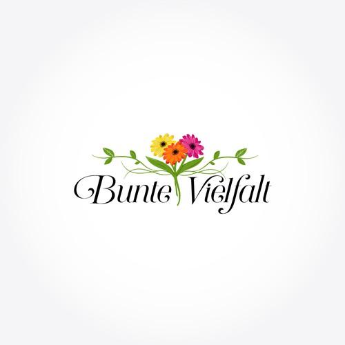 Logo für neues Geschäft für Floristik, Deko und Geschenkartikel