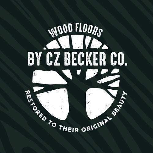Logo for Wood Floors by CZ Becker co.
