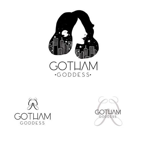 logo for gotham goddess
