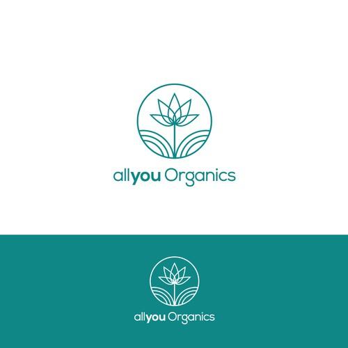 Winning design for 'allyou Organics'.