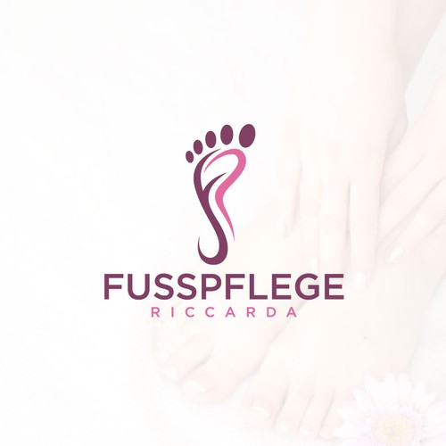 Logo concept for Spa (foot & toes care)