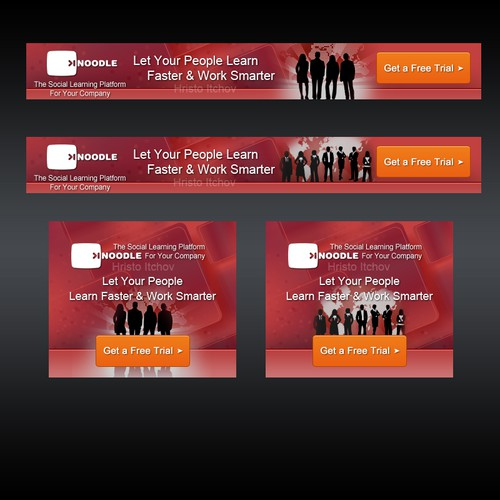 Banner  ads for exciting web 2.0/enterprise 2.0 company