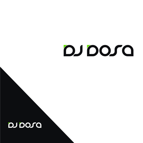 Create a dope logo for DJ DOSA