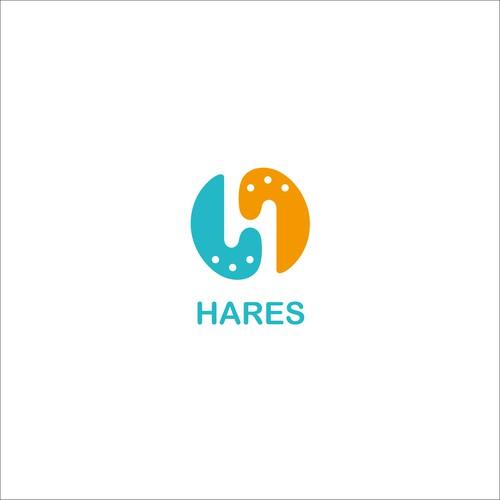 HARESのコーポレート&Webメディアロゴ