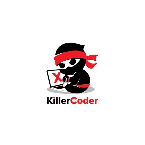 Unique Logo for Coder or web developer
