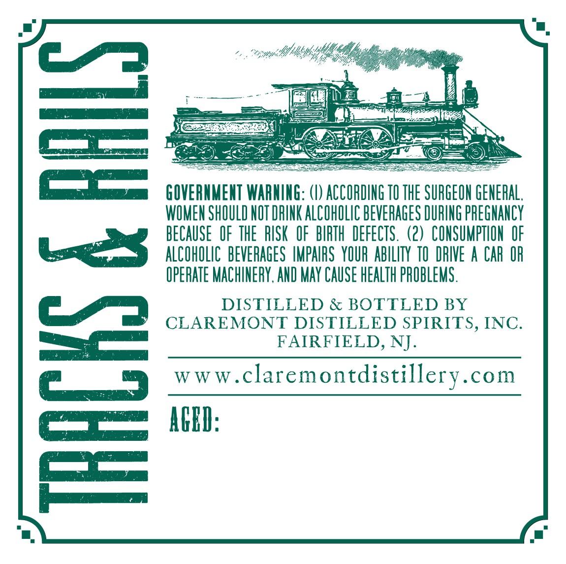 Tracks & Rails Straight Bourbon