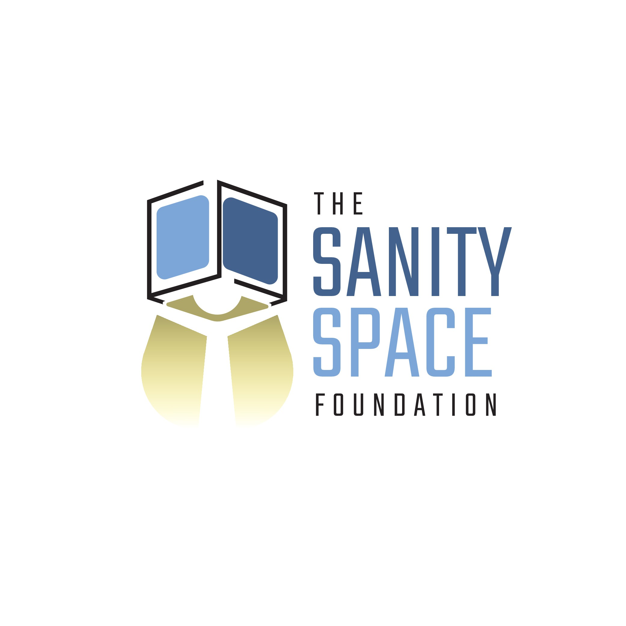 """Create a new charity's unique logo  """"The Sanity Space Foundation"""""""