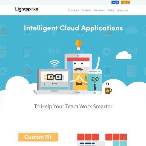 Intelligent cloud applications