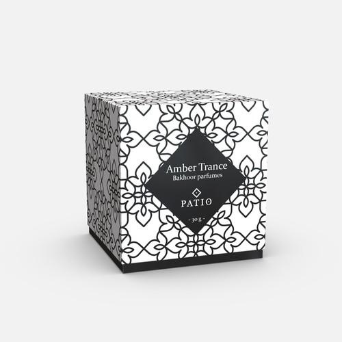 Parfume box packaging