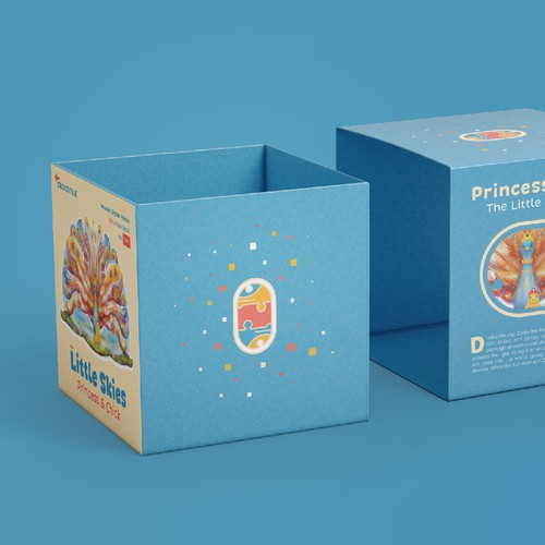 Illustration & Packaging design for Crocotile Puzzle series