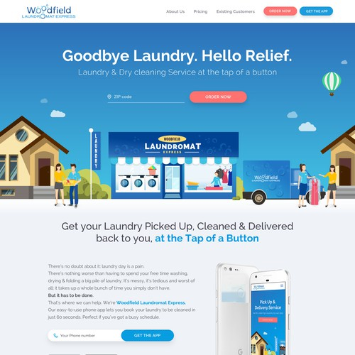 Woodfield - Laundry Service