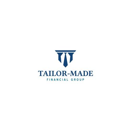 Minimal modern logo for a financial group