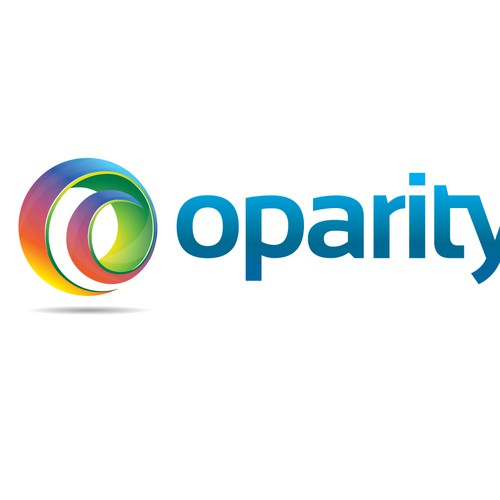 Creating a 3D funky O to go with the company name Oparity.