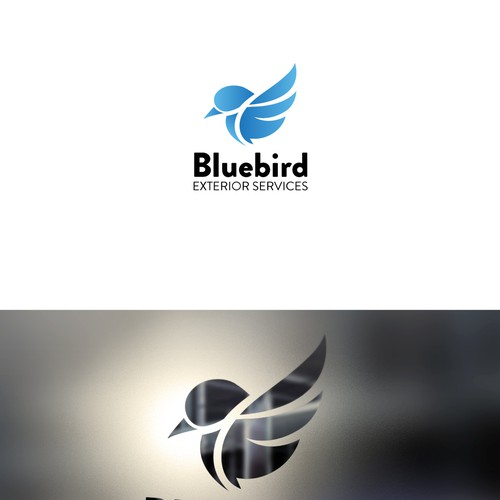 Bluebird Exterior Services needs your creative touch for our logo!