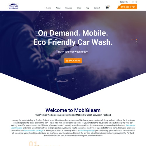 Car Wash Home Page