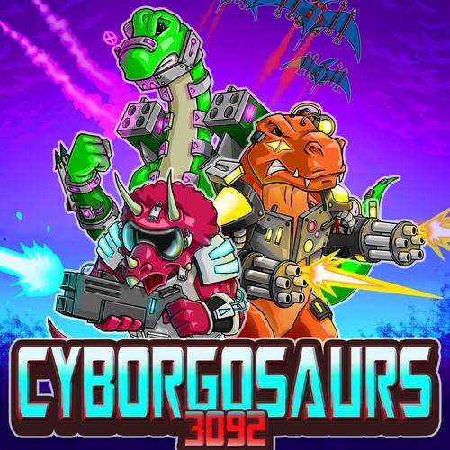 Game Concept, Cyborgosaurs 3092