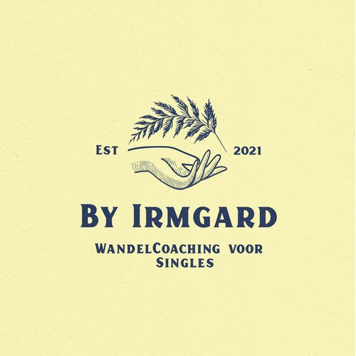 Logo for By Irmgard WandelCoaching voor Singles.
