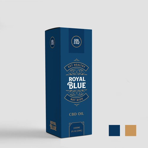 ROYAL BLUE Box Design