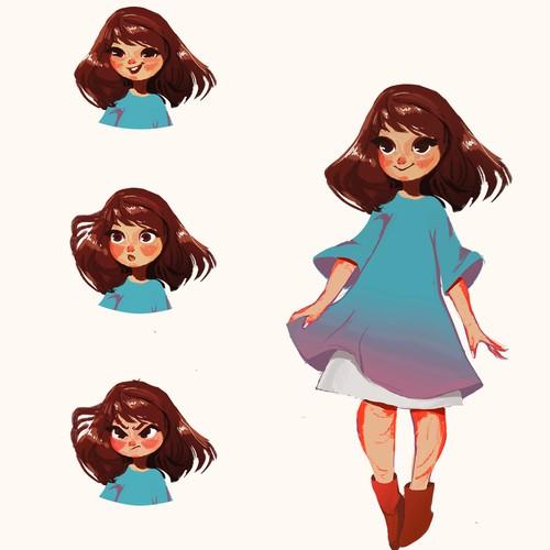 Girl Charcter