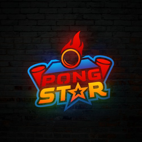Pong Star Logo