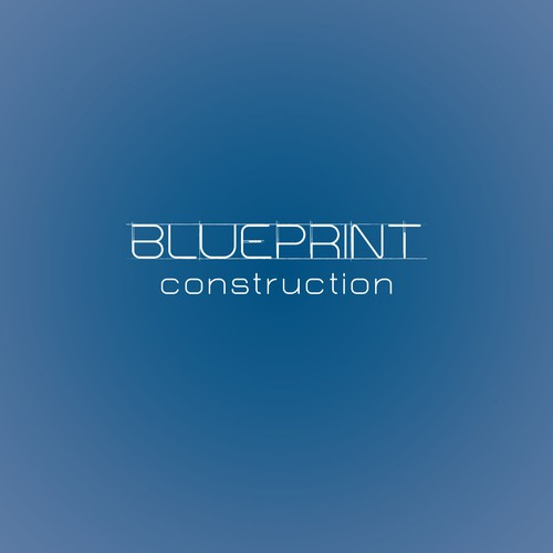 Blueprint Construction Logo