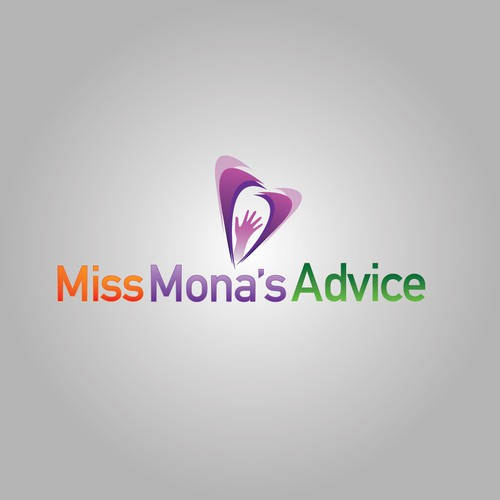 Miss Mona's Advice Logo Concept 2