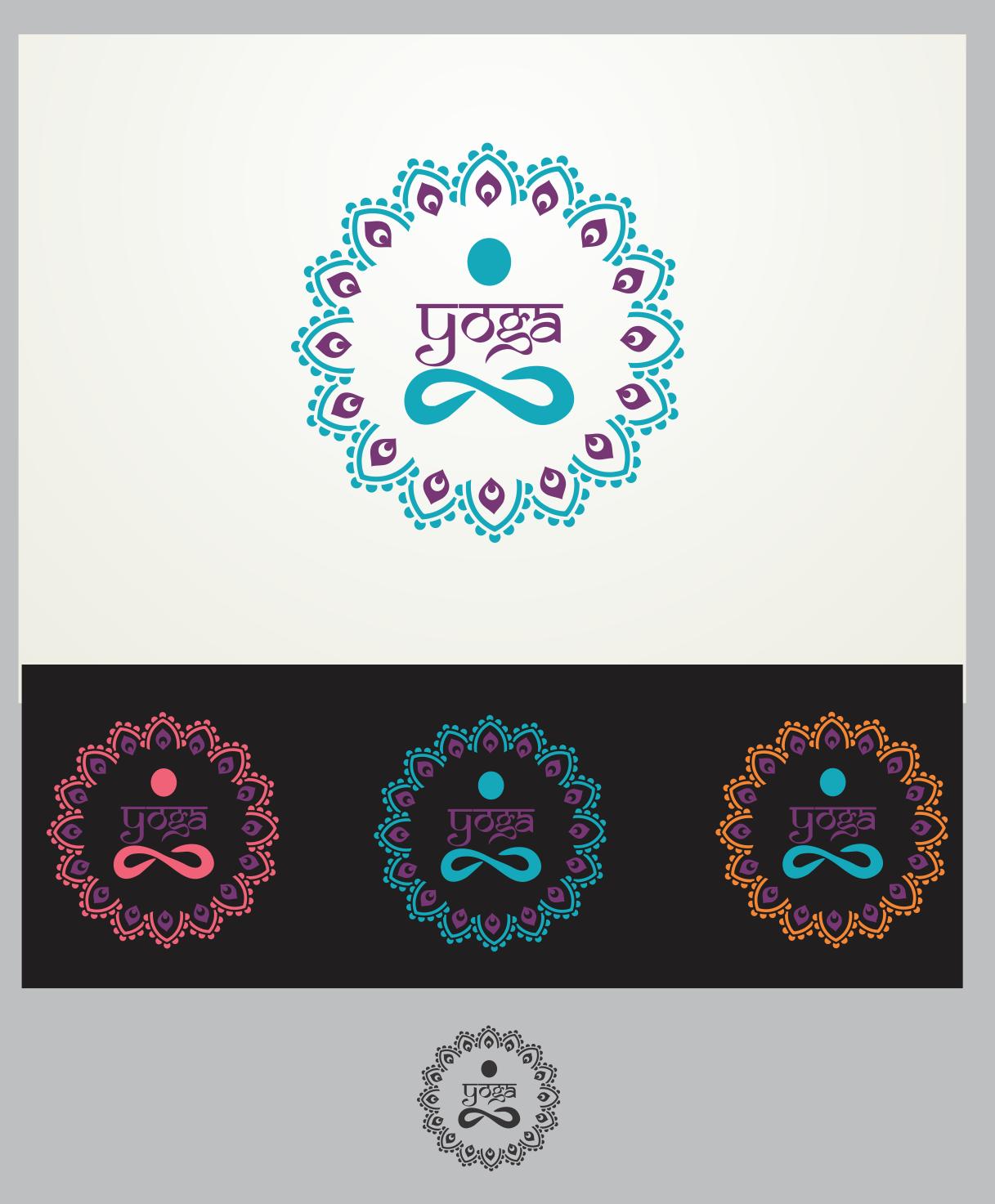 Yoga Emblem or Mandala
