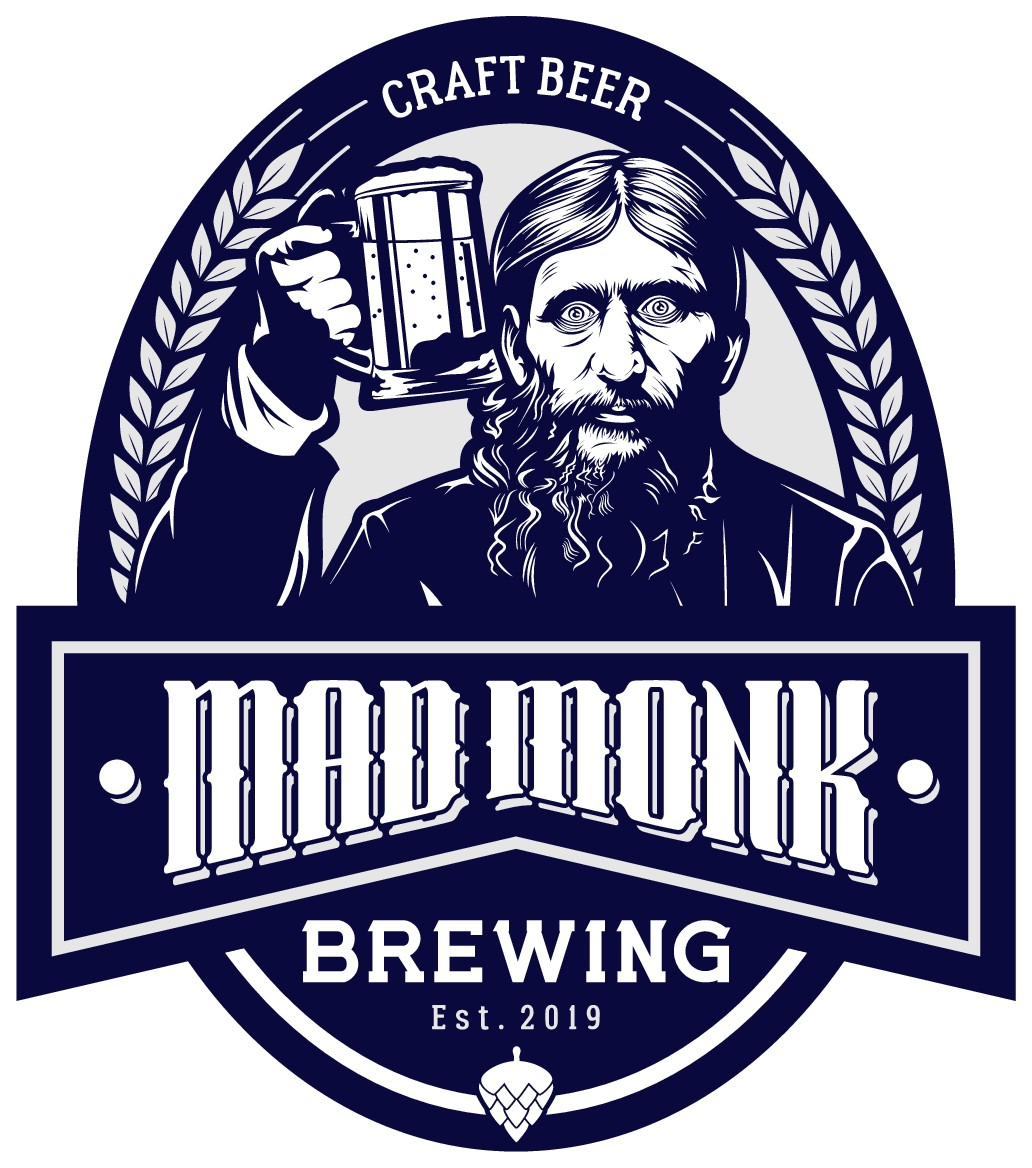 Design the Mad Monk Brewing logo