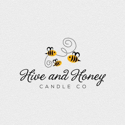 Logo for bee products