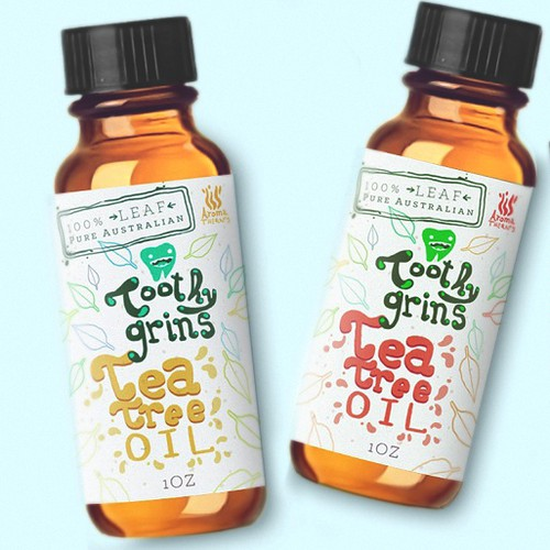Tea Tree oil Packaging
