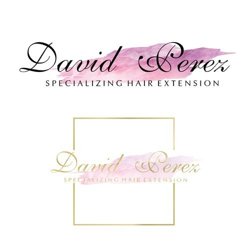 logo hair extension