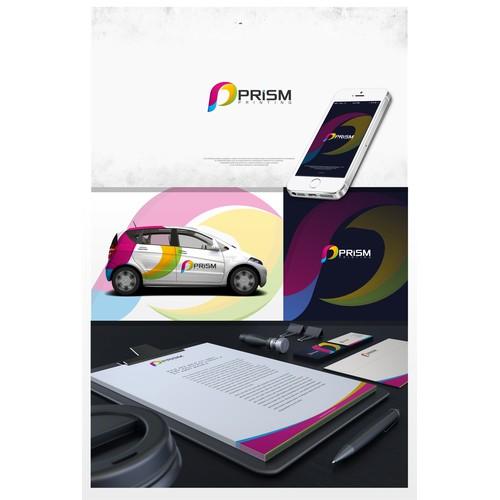 Prism printing logo