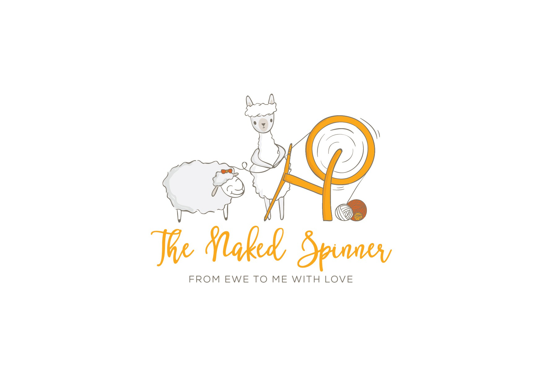 Naked spinner needs a stunning logo!