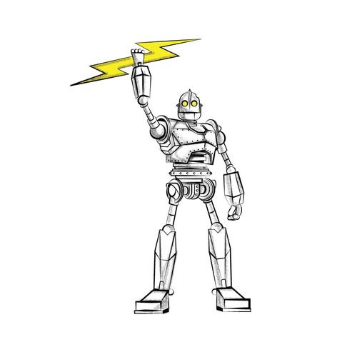 tatto iron giant