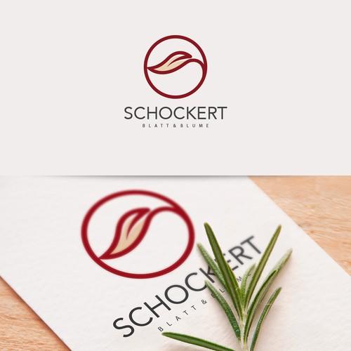 Logo concept for 'Blatt & Blume'